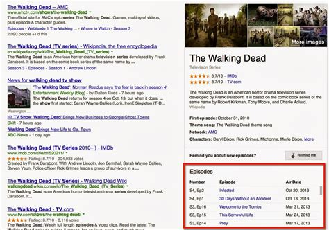 Dead Search Adds Tv Show Episode Listings To Search Results
