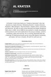 Sle Director Resume by Sales Resume Sles Visualcv Resume Sles Database