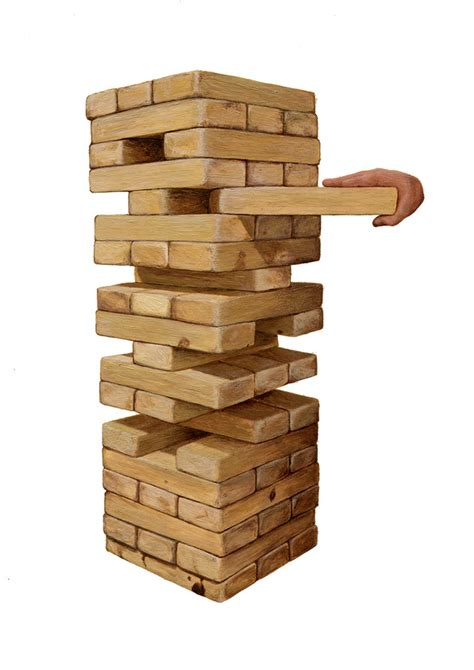 Or Jenga Jenga Tower By Sonofblackpat2 On Deviantart