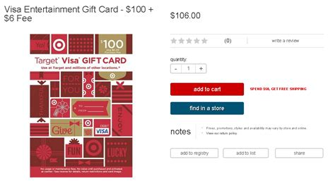 Target 5 Gift Card Promotion - 5 target gc with target visa gift card promotion ways to save money when shopping