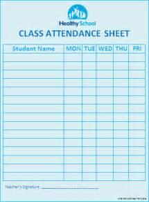 Attendance Sheet Template Word by Church Printable Template Calendar Template 2016