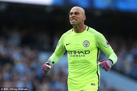 Willy Caballero Stones Is A F Player Claims Willy Caballero
