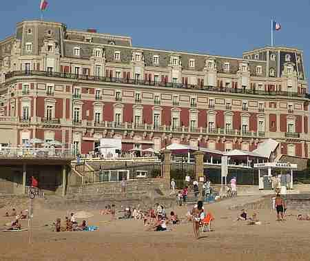 best hotel in biarritz the seaside town of biarritz photos and guide