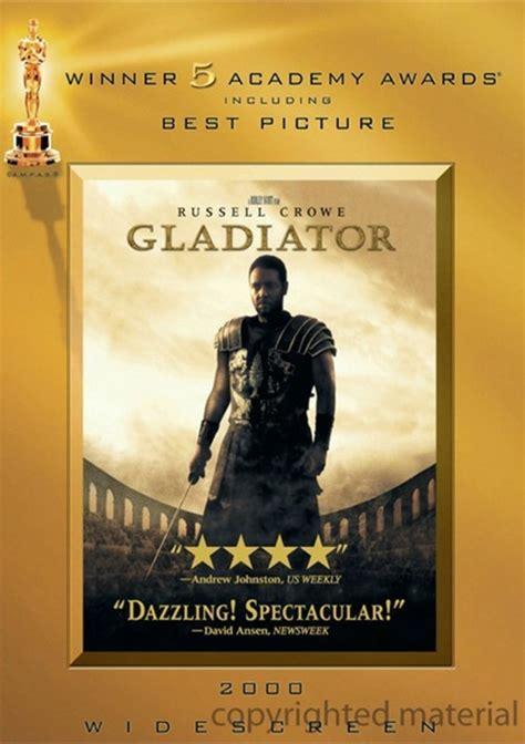 film gladiator oscars gladiator academy awards o sleeve dvd 2000 dvd empire