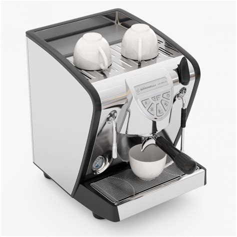 Coffee Maker Simonelli espresso machine simonelli musica 3d model cgstudio