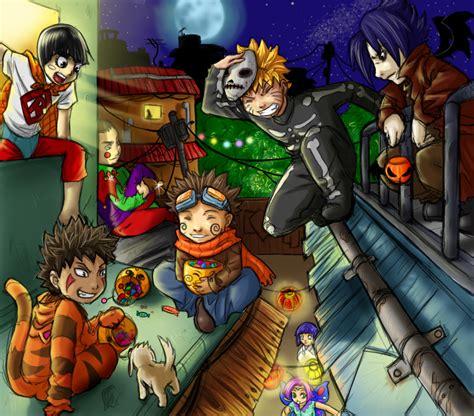naruto halloween  anime jokes collection