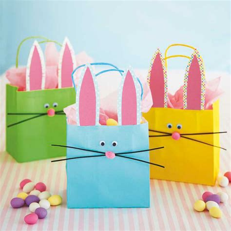 crafted gifts take these bunny gift bags on a easter egg hunt