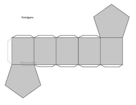 figuras geometricas hechas en cartulina forma de armar
