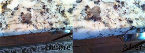 Fix Chip In Granite Countertop by Vi Granite Repairs Granite Quartz Nanaimo