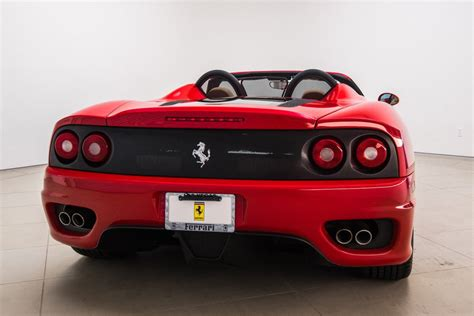 Ferrari 360 Spider Manual by 2003 Used Ferrari 360 2003 Ferrari 360 Spider 6 Speed
