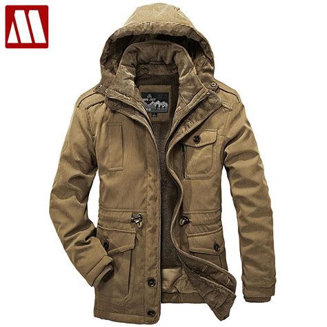 Parka Simple 2in1 Parasut Mayer Fleece 1 detachable fur liner winter coat hooded jackets new 2017 plus size 4xl warm thick coats