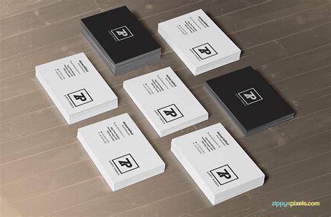 name card design mockup download 2 free business card psd mockups in stacks
