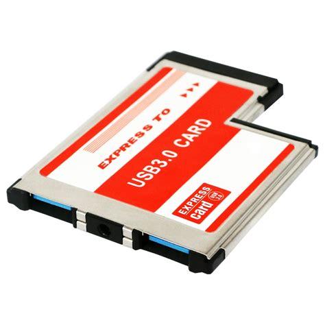 new usb 3 0 pci express card adapter dual 2 ports hub pci