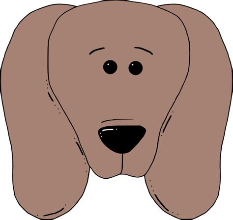 dog face 2 clip art at clker com vector clip art online