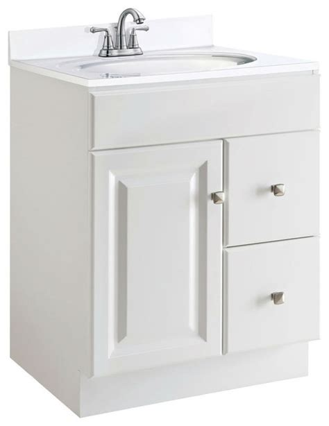 24 inch kitchen cabinets 24 inch modern bathroom vanity cabinet base in white semi gloss kitchen cabinetry by beyond