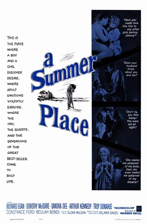 A Place Poster A Summer Place Posters From Poster Shop