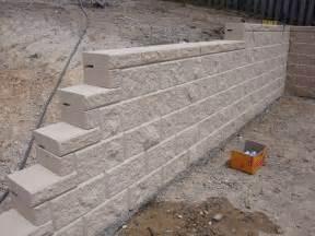 australian retaining walls heron concrete block retaining