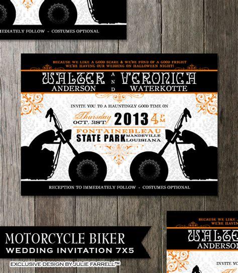 Hochzeitseinladung Motorrad by Biker Motorrad Hochzeit Einladung Ausgefallene Schn 246 Rkel Mit