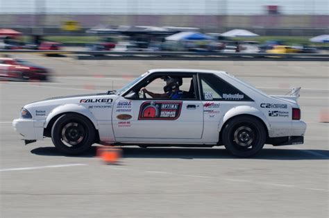 Autocross Mustang by Gregg Biddlingmeier S Autocross Fox Body Mustang