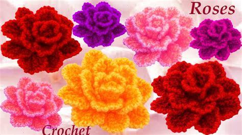 natural crochet tejidos flores para cintillos como tejer flor rosa casi natural tejido a crochet youtube