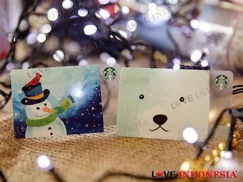 Starbucks Card Indonesia Saldo 0 Black Seattle 2016 Seri Ke 2 starbucks meriahkan liburan akhir tahun dengan minuman dan beragam merchandise baru indonesia