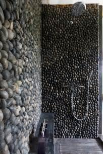 Black And Gray Bathroom Ideas - pisos para ba 241 os de piedra dikidu com