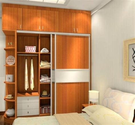built  wardrobe designs  small bedroom images