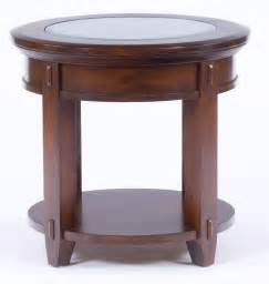 Mission Style Coffee Table Broyhill Vantana Round End Table 4986 000