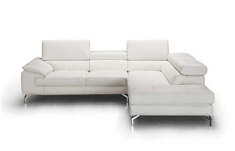 italian leather sectional with chaise j m a973 stylish italian leather sectional sofa w large