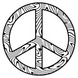 peace sign coloring pages free coloring pages of hippie peace