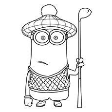 minion coloring page kevin 25 cute minions coloring pages for your toddler coloring