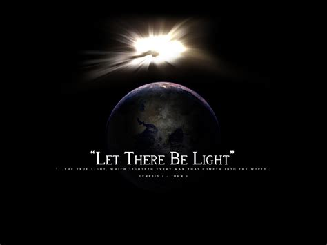 god said let there be light church planting raykliu