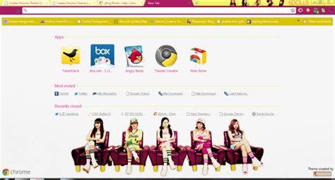 kpop google chrome themes 5dolls like this or that updated chrome theme themebeta