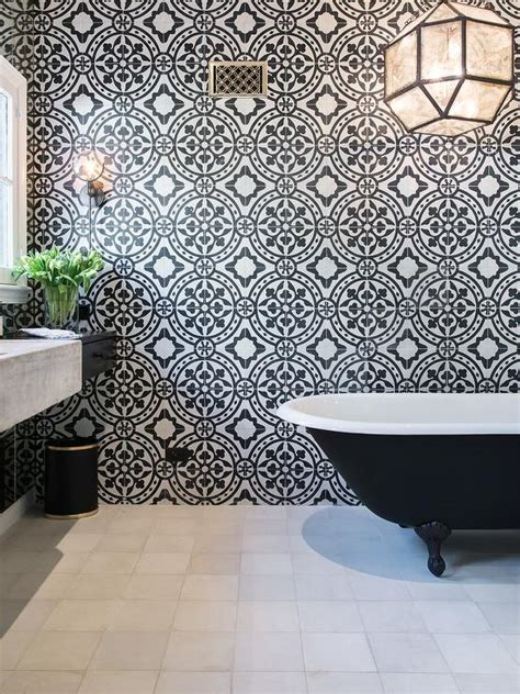bathroom tiles bristol suzanne kalser over black clawfoot tub contemporary