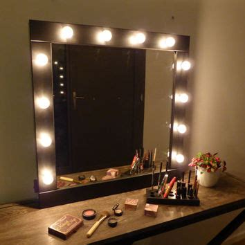 hanging mirror with lights up mirror with lights vanity from crafterscalendar