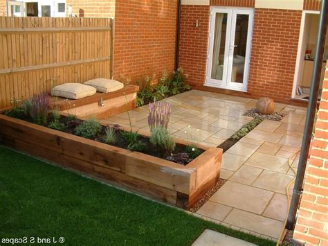 Small Garden Designs With Decking Lighting Furniture Design Small Garden Decking Ideas