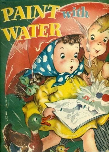 paint with water coloring book paint with water coloring books ebay