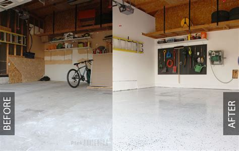 DIY Garage Floor Tutorial: RockSolid Polycuramine   Pink