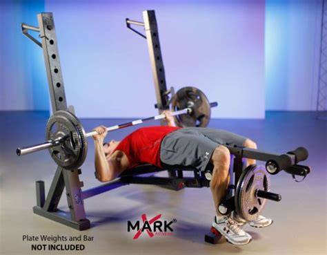 xmark international olympic weight bench fits xm44241 xmark international olympic weight bench with leg and preacher cur ebay