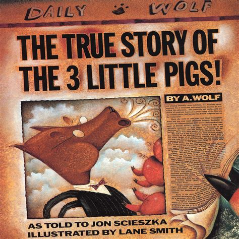 true story of the true story of the three pigs audiobook