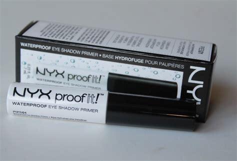 Nyx Proof It Eyeshadow Primer nyx proof it waterproof eye shadow primer review