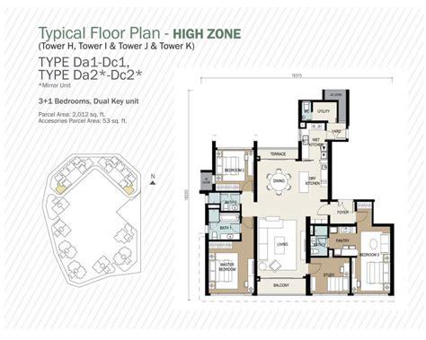 villa aseana layout new development agile mont kiara by agile pjd development
