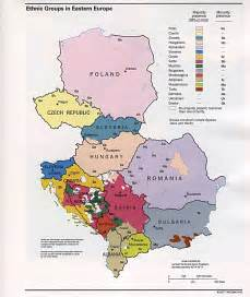 ethnic groups in eastern europe 1993 size