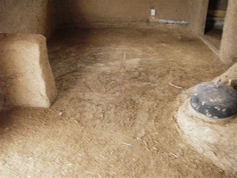 Floor Mud earthen floor start to finish i cob