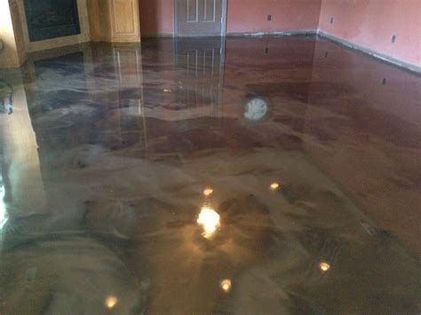 epoxy over concrete floor project in bentonville arkansas harmon concrete