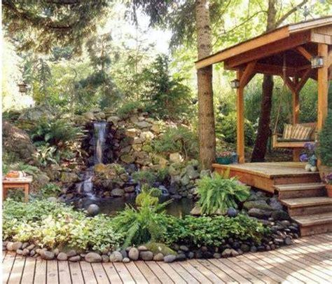natural backyard landscaping 22 beautiful waterfalls for natural backyard and front