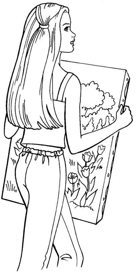 boy barbie coloring pages boy barbie colouring pages