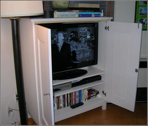 flat screen tv cabinets with doors home design ideas