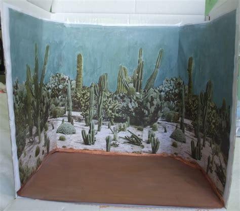 printable diorama cactus garden print out edible desert diorama image 2