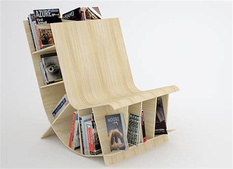 a fishbol bookshelf chair indesignlive daily